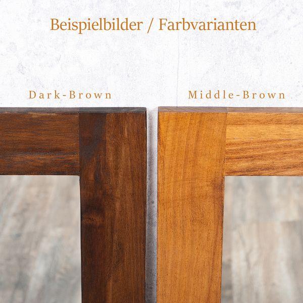 Spiegel MOTOU 90x70cm Dark-Brown Blauglockenbaum – Bild 4