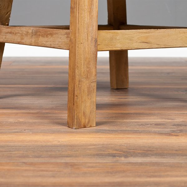 Couchtisch / Beistelltisch KARAOKE 60x45x60cm (BxHxT) recyceltes Teak – Bild 5