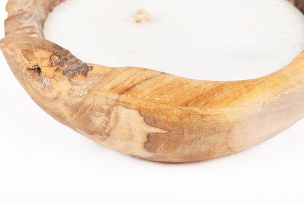 Teak-Schale LILIN Ø ca. 20cm inkl. Kerze – Bild 7