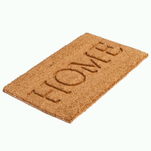 Fußmatte HOME 70x40cm Kokos – Bild 2