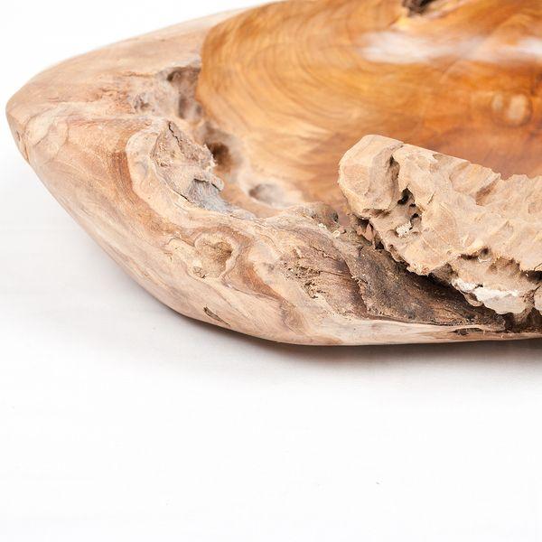 Teak Schale PREMIUM BOWL Ø ca.: 50cm Wurzelholz massiv – Bild 6