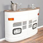 Truck-Bar INDUSTRY White Antique ca. L160cm 001