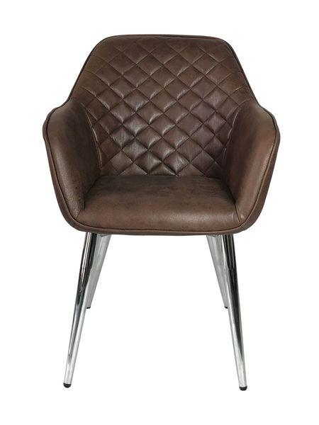 Sessel SEDES Chocolate-Q Textilleder Stuhl Design Lounge Armlehnenstuhl – Bild 3