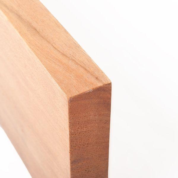 Wandregal RACK 80cm Light-Brown-M Akazie Massivholz Regal – Bild 4