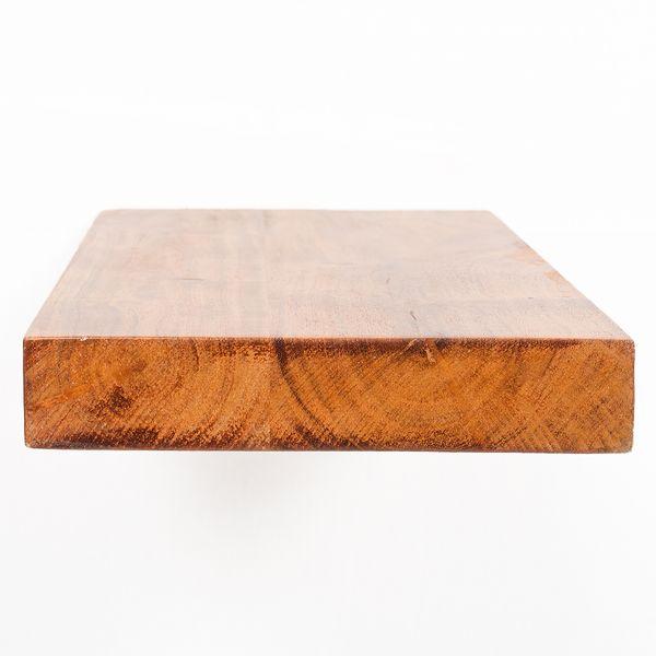 Wandregal RACK 80cm Natural-Brown-M Akazie Massivholz Regal – Bild 4