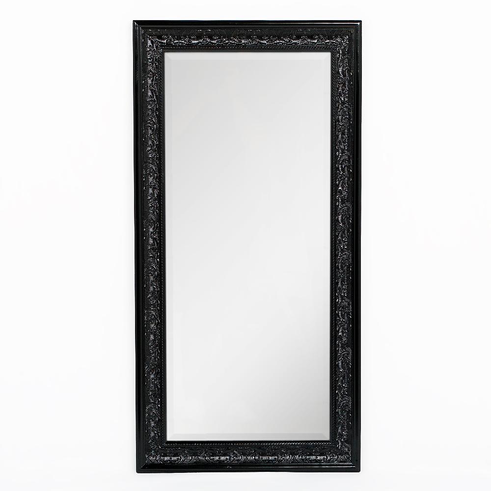 Spiegel FIORA 100x50cm Shiny-Black