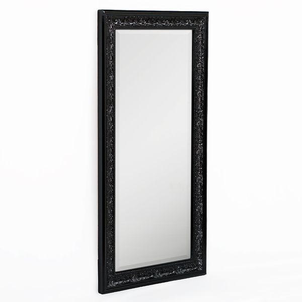 Spiegel FIORA 100x50cm Shiny-Black – Bild 2