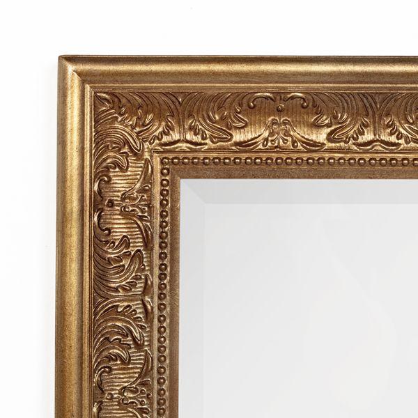 Spiegel FIORA 70x50cm Antik-Gold – Bild 4
