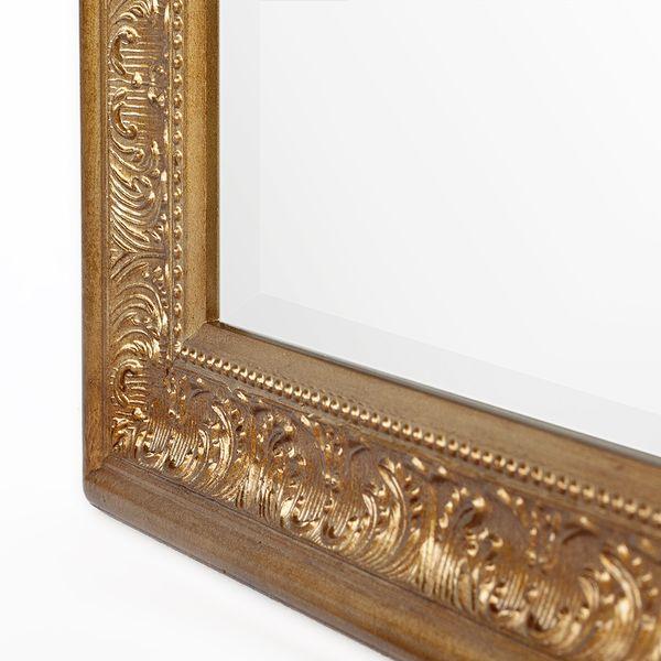 Spiegel FIORA 100x50cm Antik-Gold – Bild 5