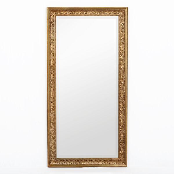Spiegel FIORA 120x60cm Antik-Gold – Bild 1