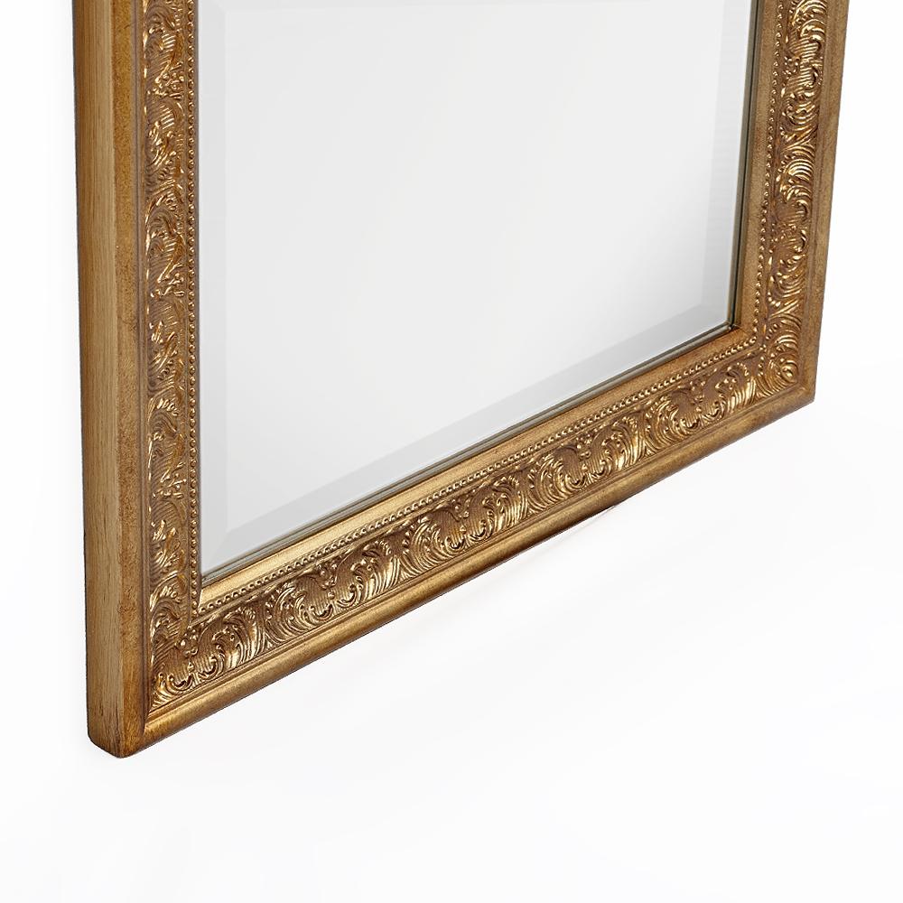 spiegel fiora 140x50cm antik gold 6902. Black Bedroom Furniture Sets. Home Design Ideas