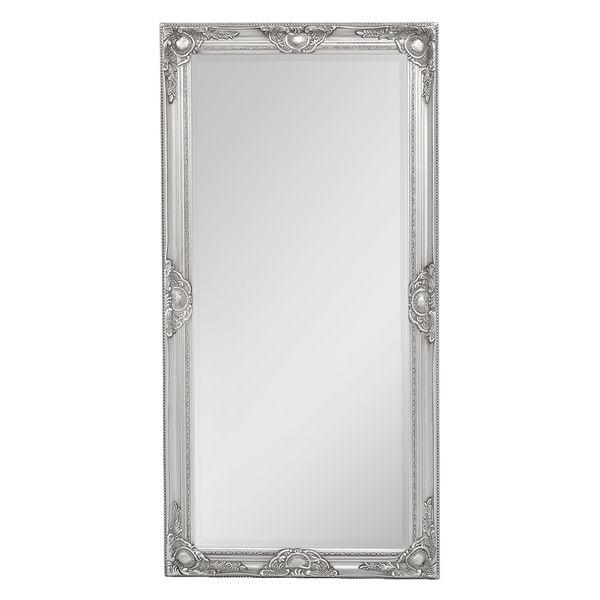 Spiegel LEANDOS barock silber-antik 120x60cm – Bild 3