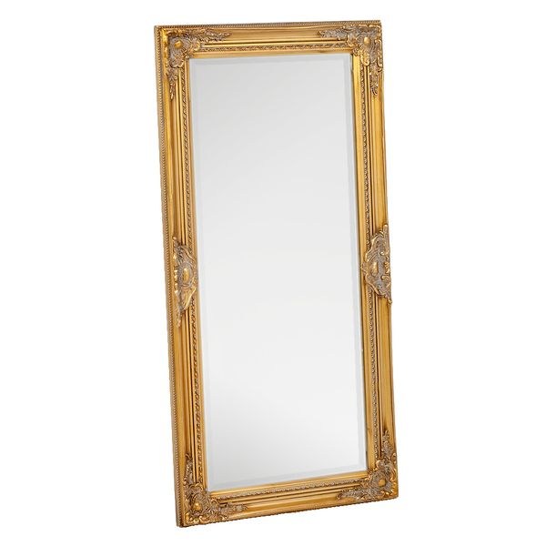 Spiegel LEANDOS barock gold-antik 120x60cm – Bild 2
