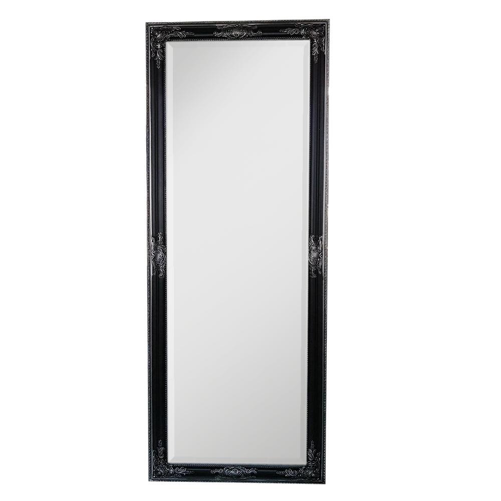 spiegel bessa l schwarz silber 160x60cm barock 6923. Black Bedroom Furniture Sets. Home Design Ideas