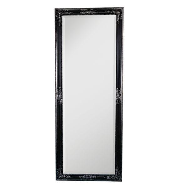 Spiegel BESSA-L schwarz-silber 160x60cm barock – Bild 1