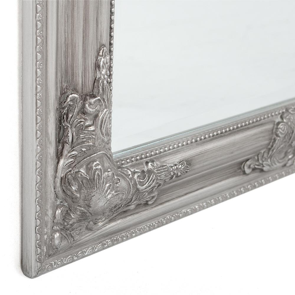spiegel bessa barock silber antik 120x60cm 6930. Black Bedroom Furniture Sets. Home Design Ideas
