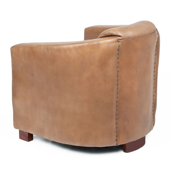 Lounge Leder-Sessel HELLO Cognac-R (Leather-E) – Bild 3