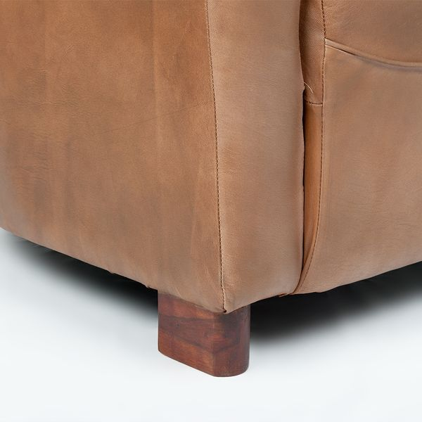 Lounge Leder-Sessel HELLO Cognac-R (Leather-E) – Bild 6