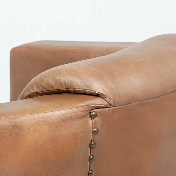 Lounge Leder-Sessel HELLO Cognac-R (Leather-E) – Bild 5