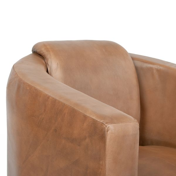 Lounge Leder-Sessel HELLO Cognac-R (Leather-E) – Bild 4