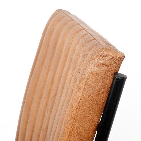 Leder Freischwinger HERO Cognac-R (Leather-E) – Bild 6