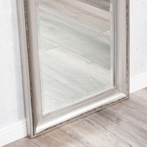 Spiegel COPIA 120x60cm Silber-Antik Wandspiegel Barock – Bild 3