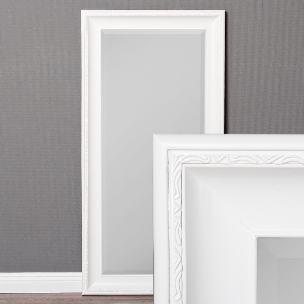 spiegel copia 120x60cm pur wei wandspiegel barock 6961. Black Bedroom Furniture Sets. Home Design Ideas