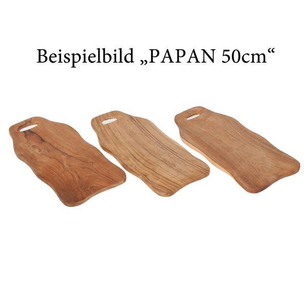 Schneidbrett PAPAN 50cm Natural Teak – Bild 6