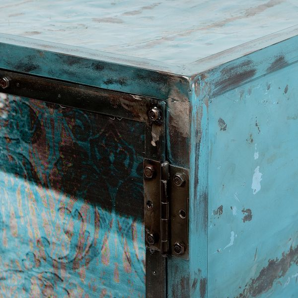 Highboard LOGAM-HENDRIX L80cm recyceltes Metall  – Bild 4