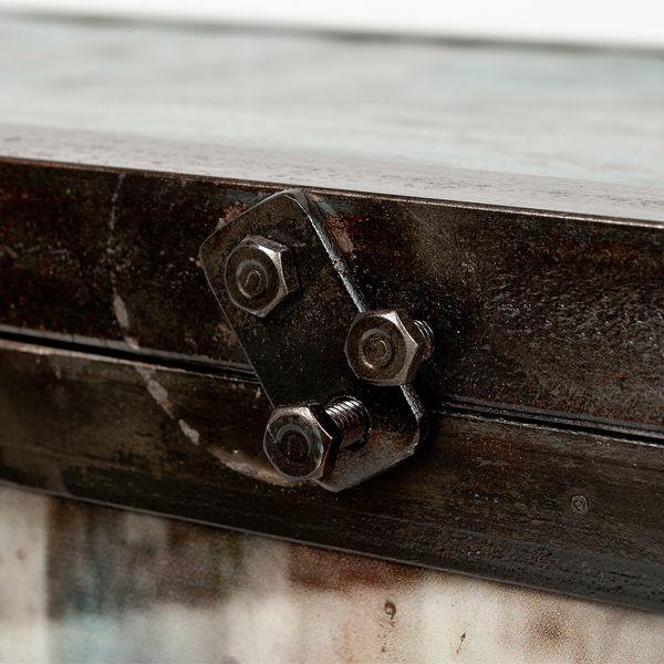 Highboard LOGAM-HENDRIX L80cm recyceltes Metall  – Bild 5