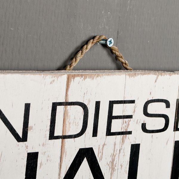 Deko-Wandbild IN DIESEM HAUS 40x60cm Holz – Bild 4