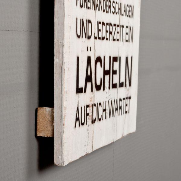 Deko-Wandbild ZUHAUSE 30x80cm Holz – Bild 3