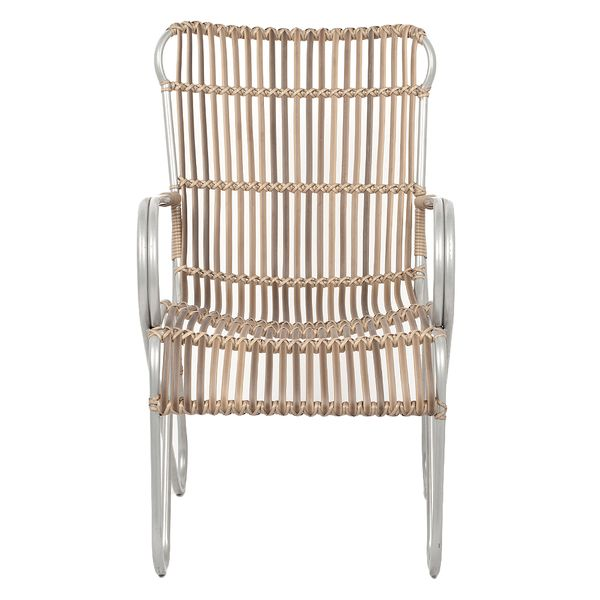 Outdoor Sessel SUNNY Polyrattan Natural – Bild 2