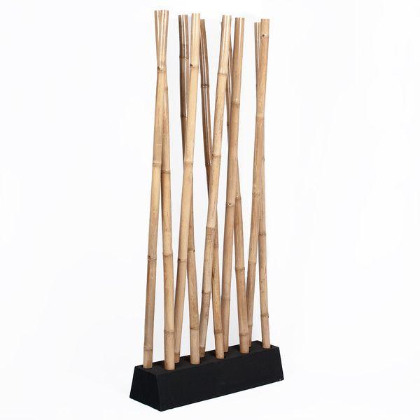 Bambus Raumteiler PARAVENTO Natural ca. 97x225cm (BxH) – Bild 1