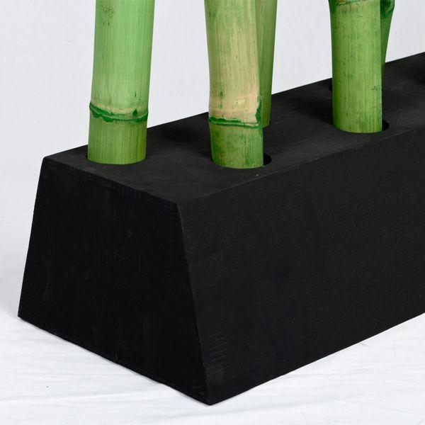 Bambus Raumteiler PARAVENTO Grün ca. 97x225cm (BxH) – Bild 4