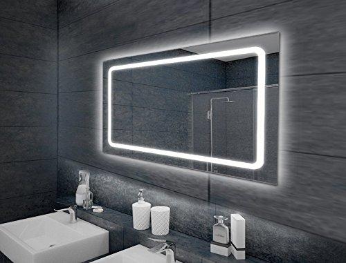 KROLLMANN LED-Badspiegel TOBI 100x65cm