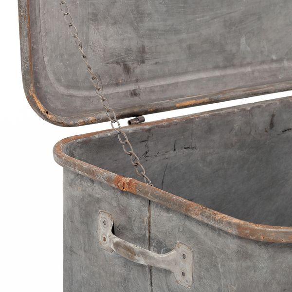 Verzinkte Metallbox PICORA mit Deckel 48cm – Bild 3