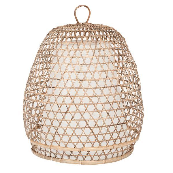 Lampenschirm LAMPARA Rattan ca. D45cm Natural – Bild 1