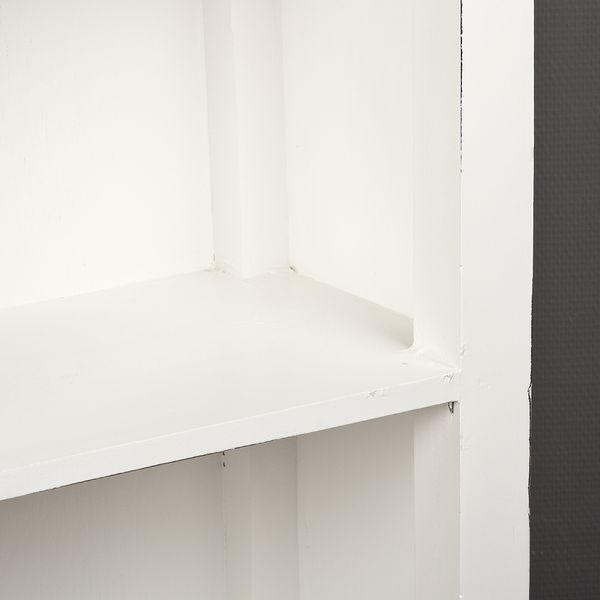 Bücherregal ANGELIQUE Antik Weiß ca. B97cm – Bild 3