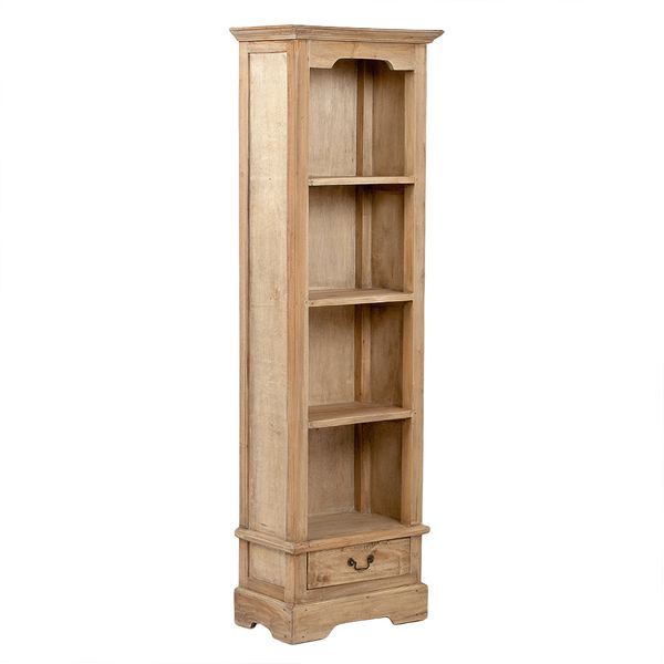 Bücherregal ANGELIQUE Antik Natural ca. B56cm – Bild 1