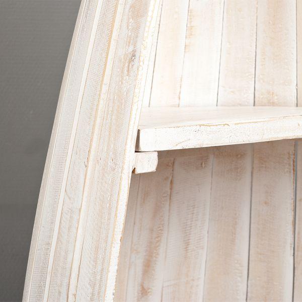 Bootsregal BALI White Wash Mahagoni ca. H200cm – Bild 5
