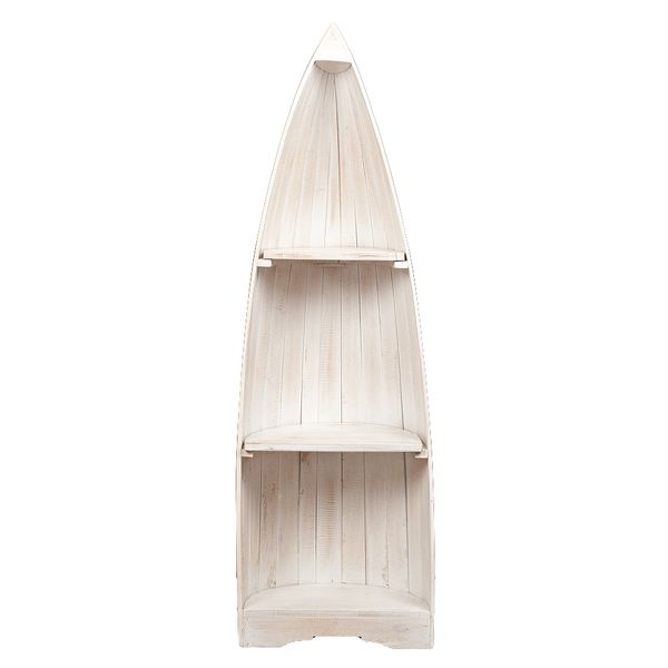 Bootsregal BALI White Wash Mahagoni ca. H150cm – Bild 3
