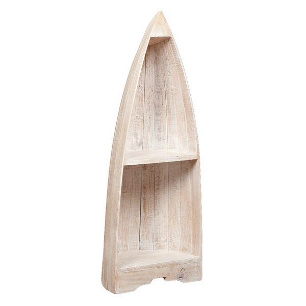 Bootsregal BALI White Wash Mahagoni ca. H100cm – Bild 1