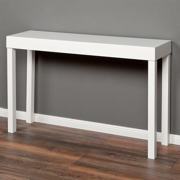 Konsolentisch LINO-A ca. 120x80cm (LxH) Weiß – Bild 4