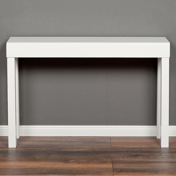 Konsolentisch LINO-A ca. 100x80cm (LxH) Weiß – Bild 2