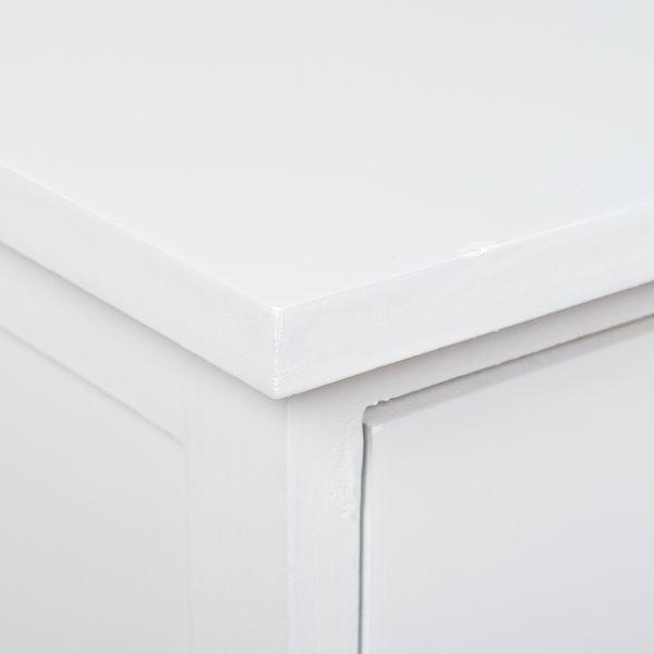 2-tlg. Beistellschrank-Set BARCLAY Weiß ca. H59cm – Bild 4
