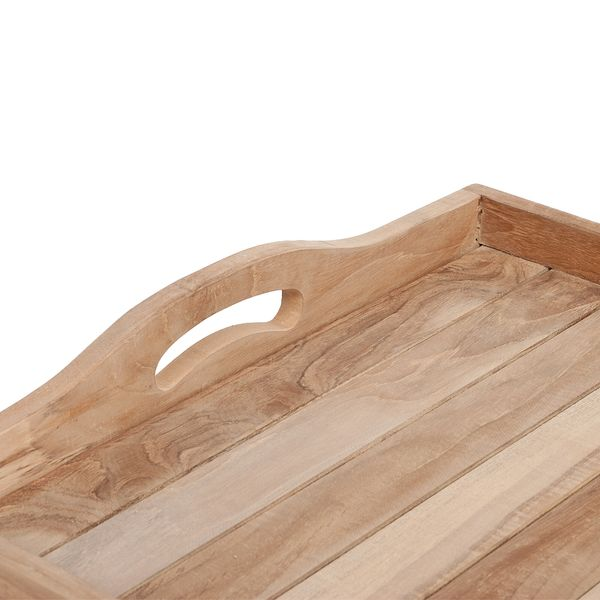 Tablett TRAY Natural ca. L64cm Mahagoni – Bild 5