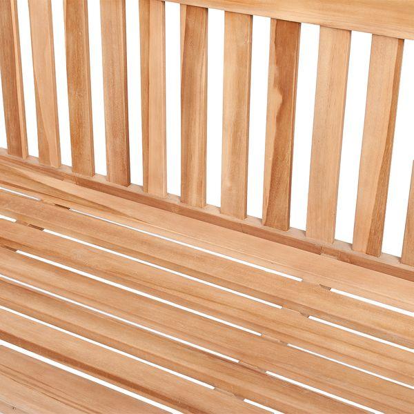 Sitzbank MAMMUT Teak Natural ca. L230cm – Bild 4