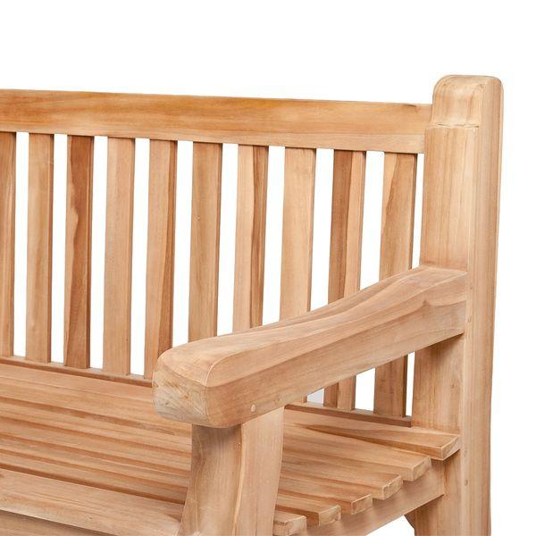 Sitzbank MAMMUT Teak Natural ca. L230cm – Bild 3