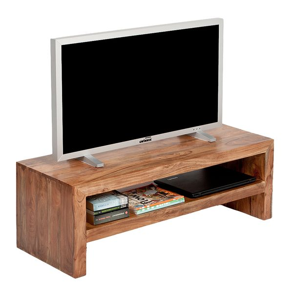 TV-Board KASI Natural-Brown-R ca. L140cm Akazie – Bild 3